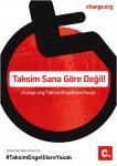 Taksim Engellilere Yasak