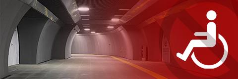 Gayrettepe Metro - Metrobüs bağlantısı, engelli